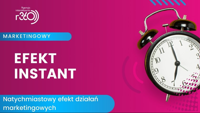 Efekt instant w digital marketingu.